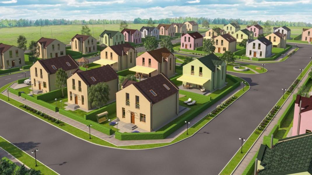 Земельные участки под строительство жилых домов